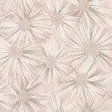 Nina Campbell Estella Shell Pink / Silver Wallpaper - Product code: NCW4202/06