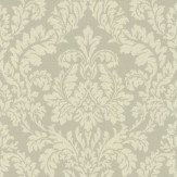 Albany Classic Damask Beige Wallpaper