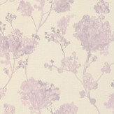 Albany Misty Floral Lilac Wallpaper