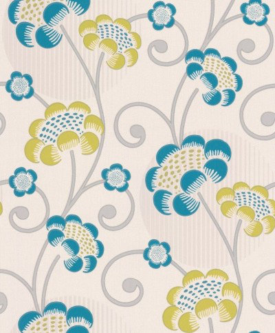 Image of Albany Wallpapers Contemporary Floral, 30054-5