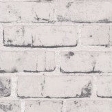 Albany Rustic Brick Grey Wallpaper - Product code: 9078-37