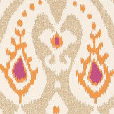 Sanderson Java Brights / Linen Wallpaper