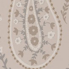 Sanderson Jamila Linen/ Gilver Wallpaper