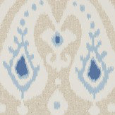Sanderson Java Wedgwood/ Linen Wallpaper