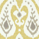 Sanderson Java Linden/ Gilver Wallpaper - Product code: 215439