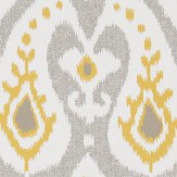 Sanderson Java Pewter/ Chartreuse Wallpaper