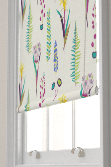 Sanderson Floral Bazaar Fig / Multi Blind