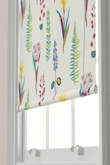 Sanderson Floral Bazaar Fig / Multi Blind - Product code: 224641