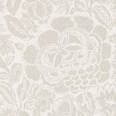 Sanderson Poppy Damask Silver / Chalk Wallpaper