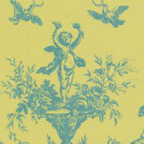 C Brewer & Sons Ltd Toile Litlington Wallpaper