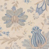 Colefax and Fowler Casimir Old Blue Wallpaper