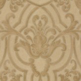 Colefax and Fowler Fretwork Gold Wallpaper