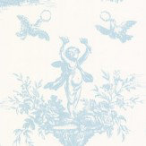 C Brewer & Sons Ltd Toile Fordingbridge Wallpaper