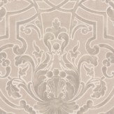 Colefax and Fowler Fretwork Ivory Wallpaper