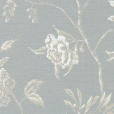 Colefax and Fowler Swedish Tree Old Blue Wallpaper