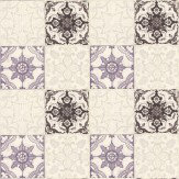 Albany Gothic Tile Lilac Wallpaper