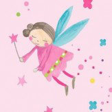 Arthouse Fairy Dust  Pink Wallpaper