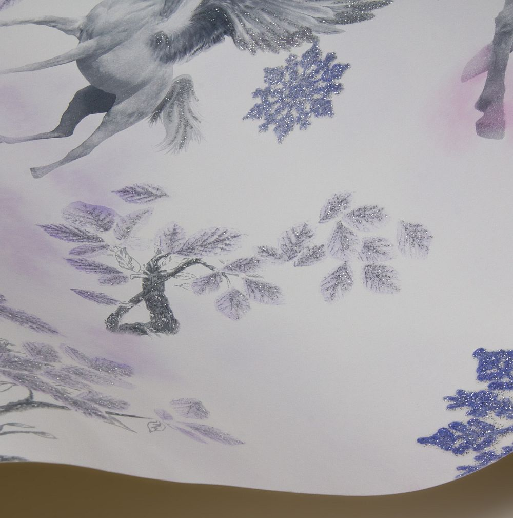 Arthouse Fairytale Lilac Wallpaper - Product code: 667801