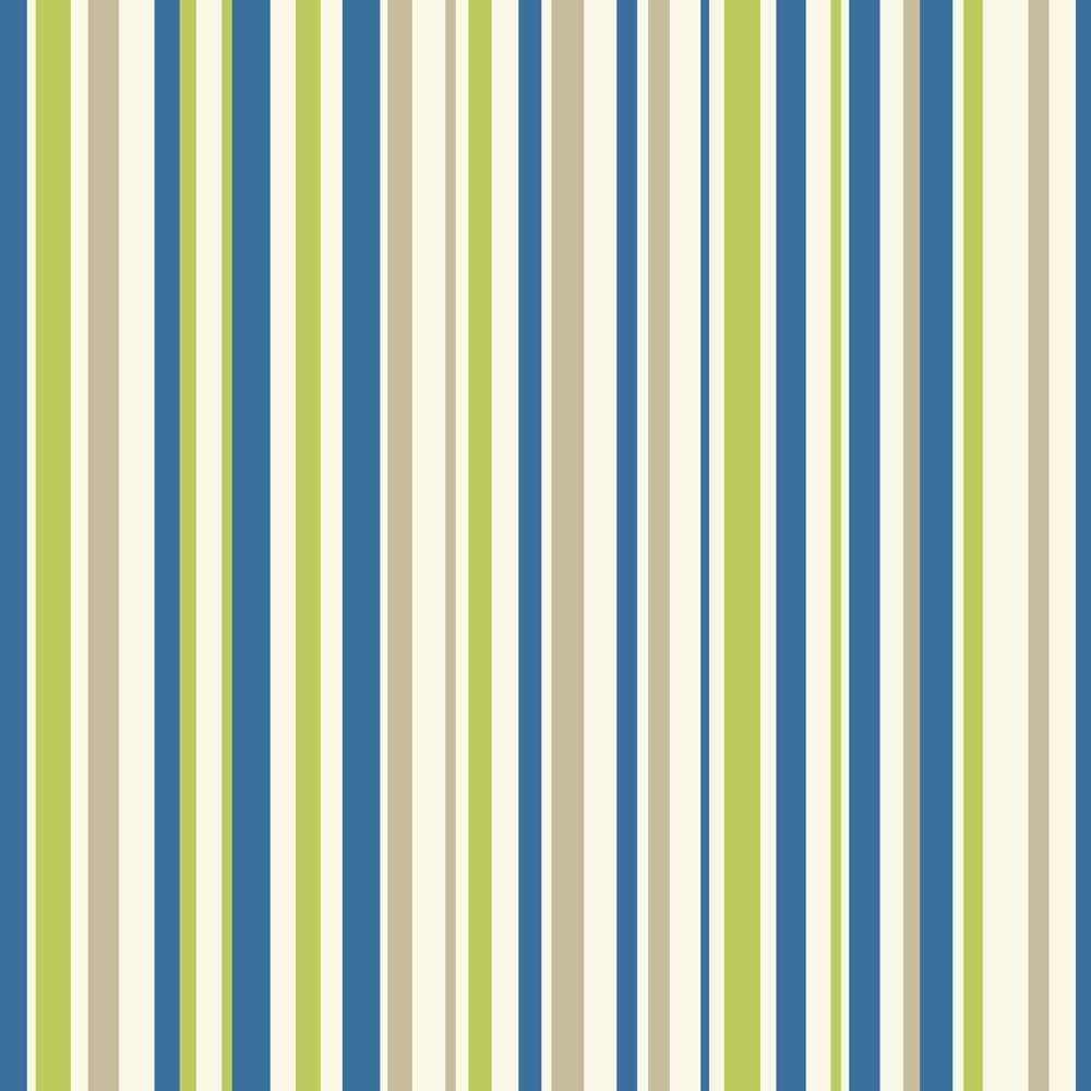 Arthouse Earn Your Stripes Blue/Green Wallpaper - Product code: 668700
