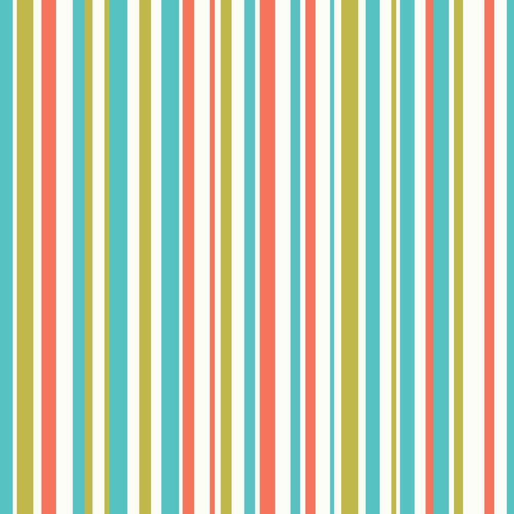 Arthouse Earn Your Stripes Orange/Green Wallpaper - Product code: 668702
