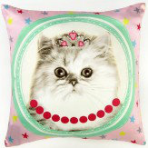 Arthouse Hall of Fame Cushion Cat Multi - Product code: 008306