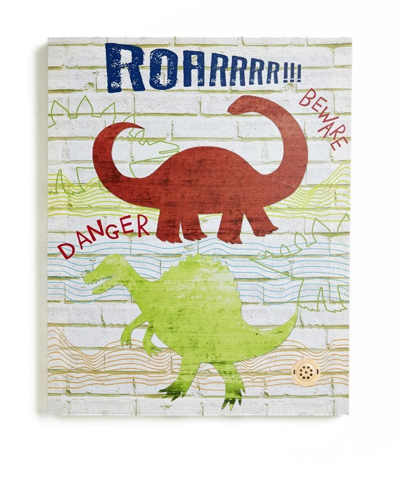 Arthouse Dino Doodles Canvas with Sound Function Multi Art - Product code: 004154