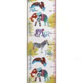 Arthouse Jungle Animals Height Chart  Multi
