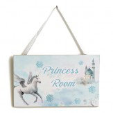 Arthouse Fairytale Door Sign Ice Blue Art - Product code: 004168