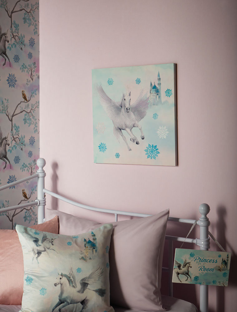 Arthouse Fairytale Door Sign Ice Blue Art - Product code: 004168