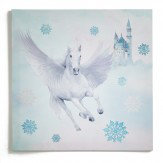 Arthouse Fairytale Glitter Canvas  Ice Blue Art - Product code: 004169