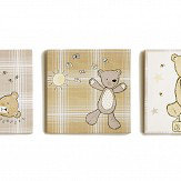 Arthouse Bear Hugs Set of 3 Canvas Multi Art - Product code: 004171