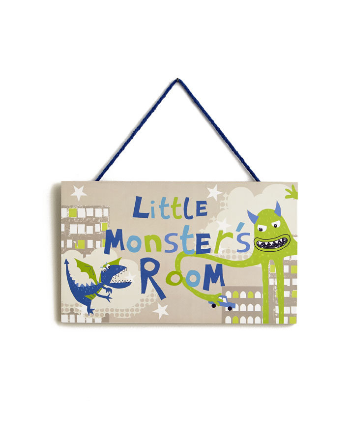 Arthouse Monster Madness Door Sign Multi Art - Product code: 004172