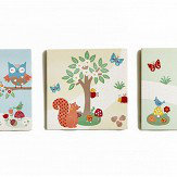 Arthouse Forest Friends Set of 3 Canvas Multi Art