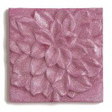 Arthouse Pink 3D Glitter Flower Canvas Pink Glitter Art - Product code: 004178