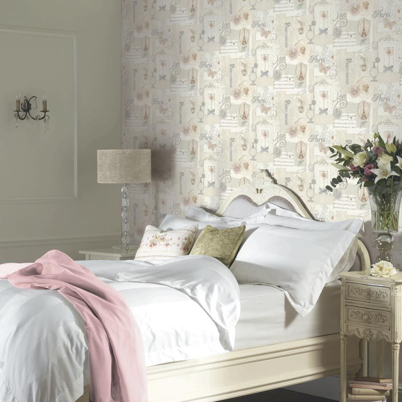 Felicity Wallpaper - Natural - by Arthouse