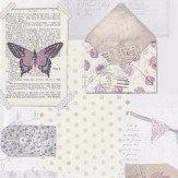 Arthouse PS I Love You Lilac Wallpaper