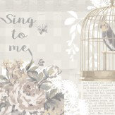 Arthouse Sing To Me Natural Wallpaper - Product code: 671301