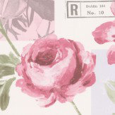 Galerie Postcard Florals Dusky Pink & Grey Wallpaper - Product code: S45205