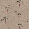 Clarke & Clarke Flamingo Linen Fabric