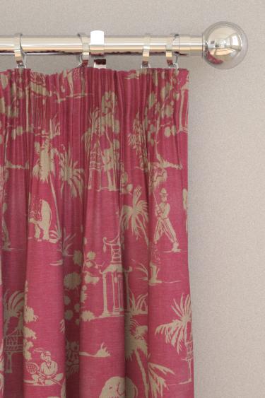 Clarke & Clarke Mandir Sorbet Curtains