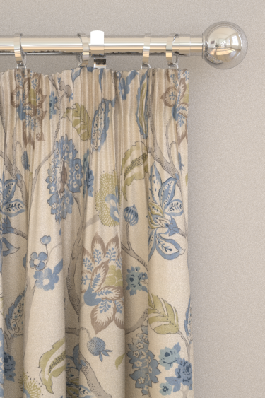 Clarke & Clarke Mariam Denim Curtains