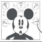 Galerie Mickey Comic Black, White & Red Wallpaper