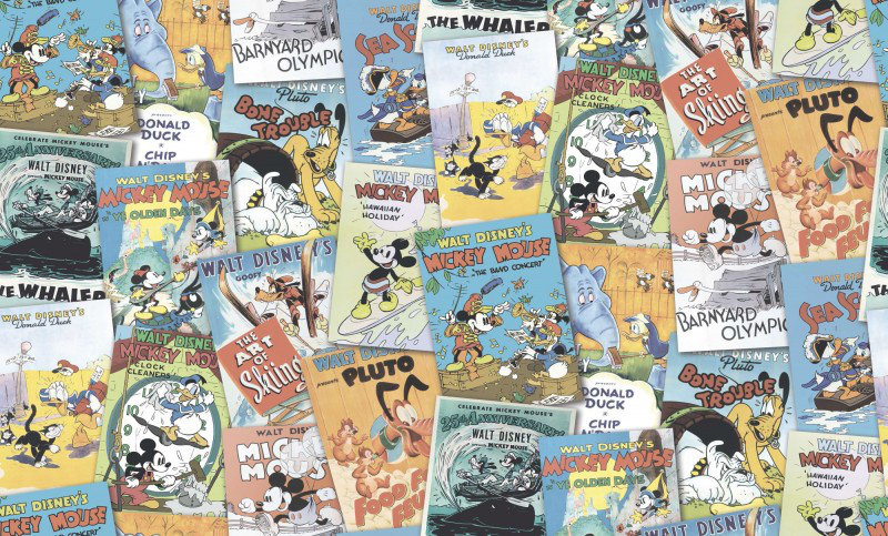 Galerie Wallpapers Mickey & Friends Posters DY30121