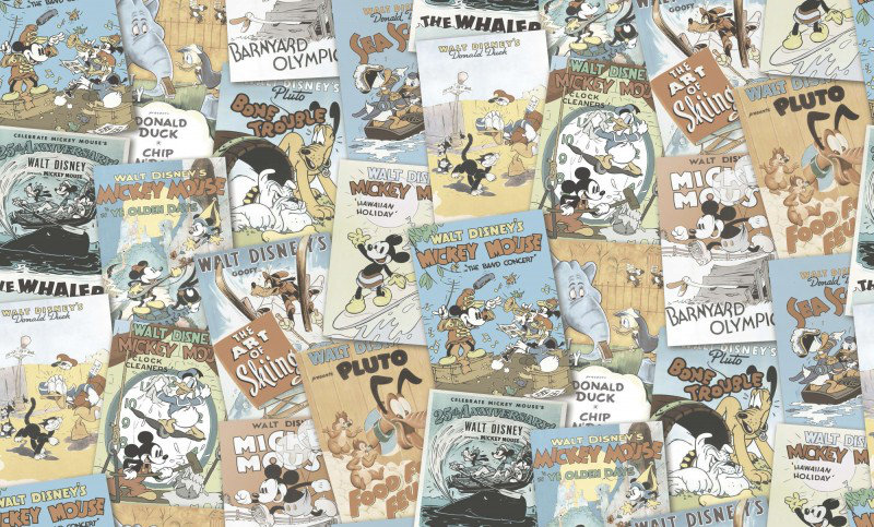 Galerie Wallpapers Mickey & Friends Posters DY30122