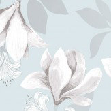 Vallila Magnolia Duck Egg Wallpaper - Product code: 5182-1