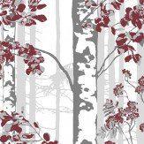Vallila Luontopolku Red Wallpaper - Product code: 5219-1