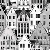 Vallila Bergen Grey Wallpaper