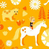 Vallila Kevatlaulu Orange Wallpaper - Product code: 5224-2