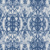 Kandola Raja Royal Blue Wallpaper