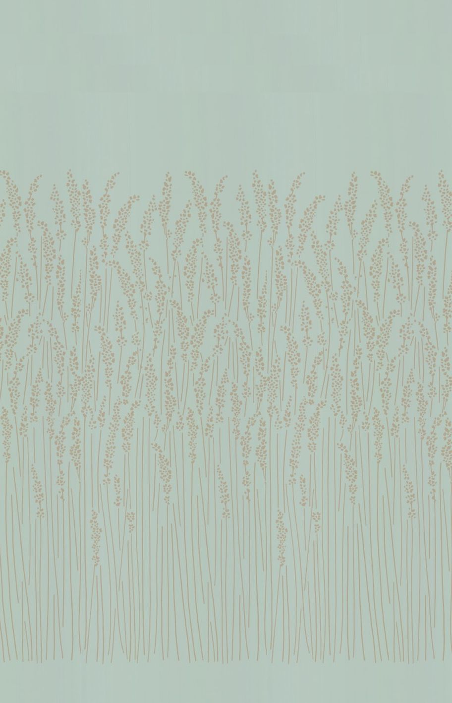 Farrow & Ball Feather Grass Blue Wallpaper - Product code: BP 5107
